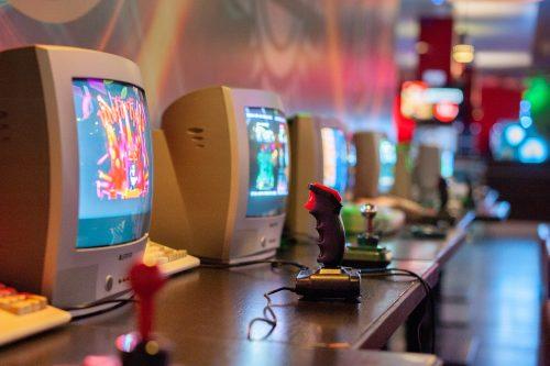 consoles vintage sur ordinateur