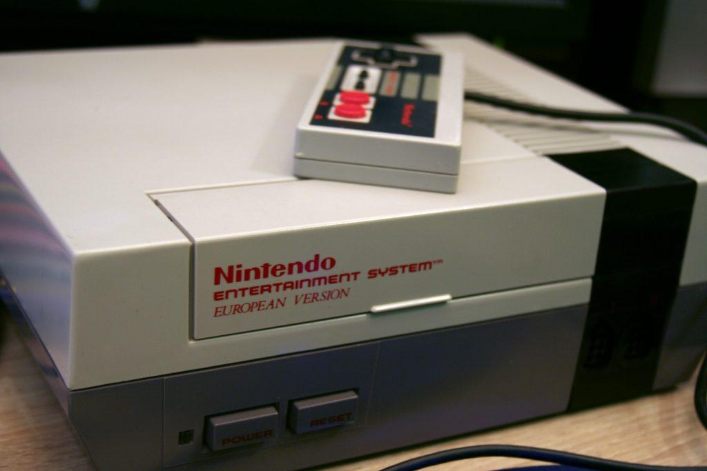 super nintendo console vintage