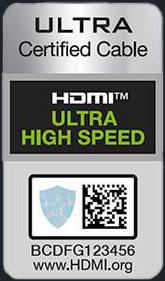 HDMI Ultra High Speed